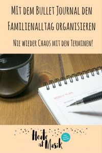 Bullet Journal Familienalltag